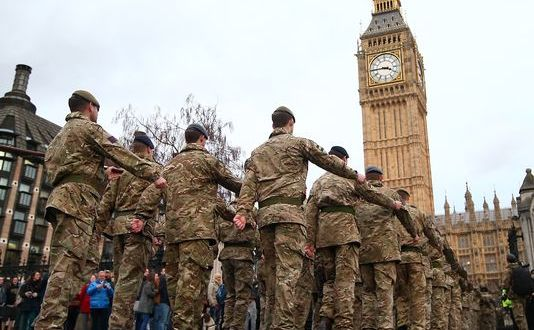 UK Seeks To Turn Soldiers Into Businessmen
