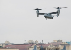 Residents upset by move to base Ospreys at Yokota
