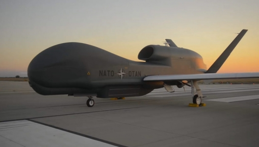NATO's First Drone Rolls off Assembly Line in San Diego