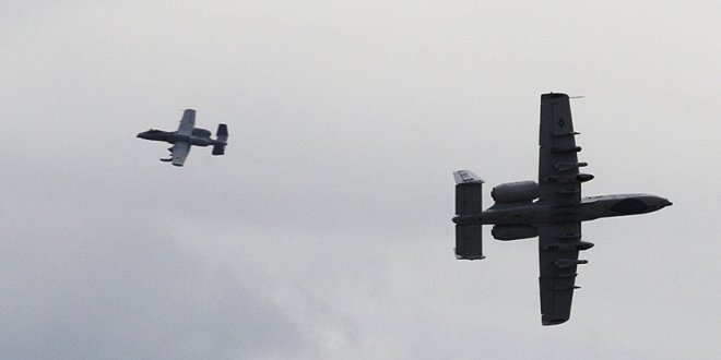 US A-10s will perform low-level flights in Russia's backyard