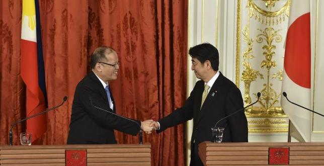 Aquino: will begin talks to allow Japan to use Philippines' military bases