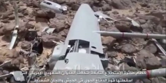 Seeker UAV crashes in Yemen