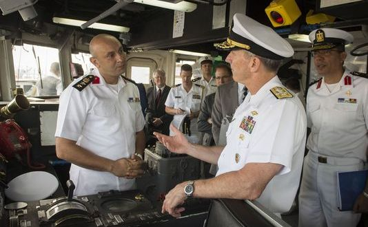 CNO Greenert Reconnects with Egyptian Navy