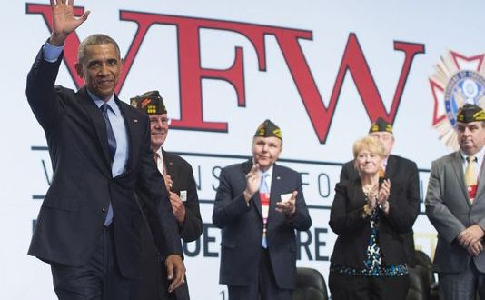 Obama uses VFW speech to rail against sequestration