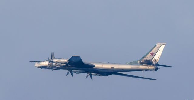 Russian Strategic Bomber Plane Crashes In Far East