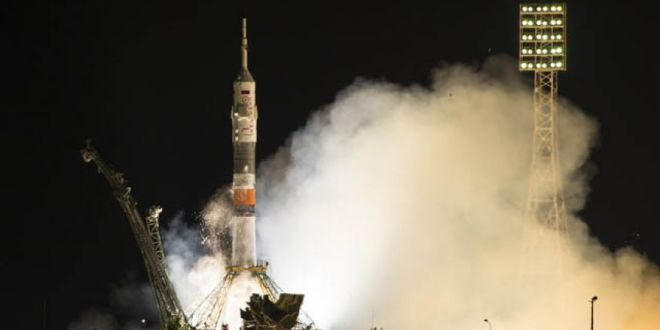 Russian space capsule docks at International Space Station