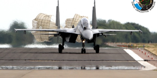 The Indian Air Force has deployed four Su-30MKI Flanker jets to the UK
