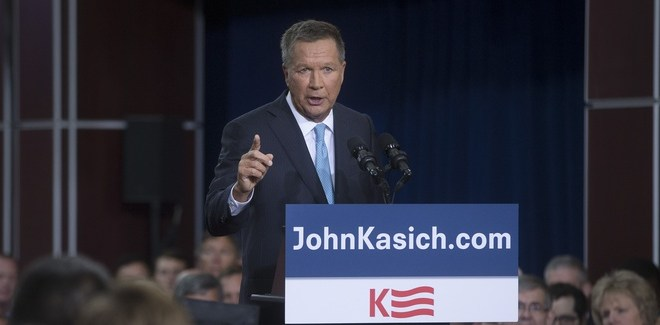 Meet John Kasich, the Fiscal-Defense Hawk You Don't Remember