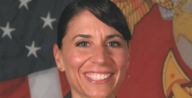 Fired female Marine commander turns to Congress