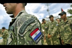 Colombia Training Paraguay Soldiers in Counterinsurgency