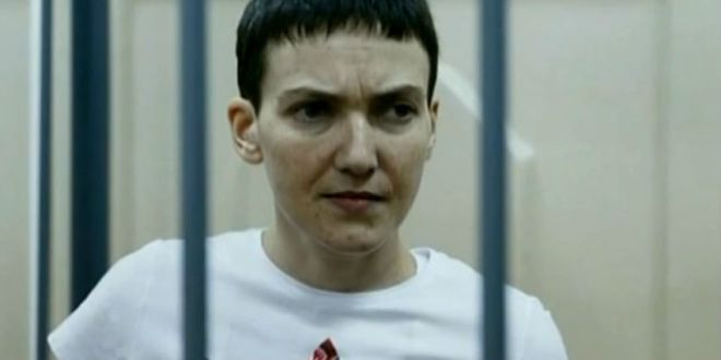 Russia Threatens Ukrainian Pilot Nadiya Savchenko with 25-Year Jail Term