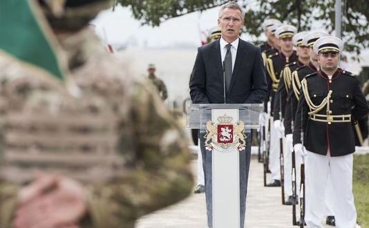 NATO chief: Too early to say if Georgia joins NATO