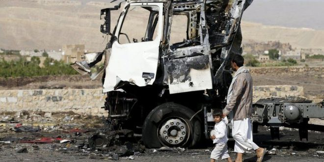 Yemen air strike kills 31 in Hajjah province – BBC News