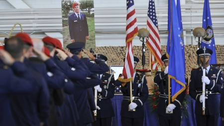 A man to emulate: Honoring a fallen Special Tactics Officer > Air Force Special Operations Command