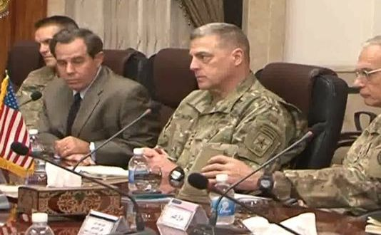 Army chief of staff makes surprise visit to Iraq