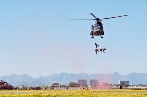 What it takes to get into the South African army's Special Forces