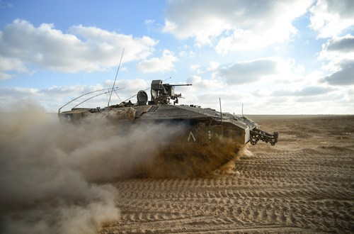 Israel Builds First Prototype of Future Fighting Vehicle