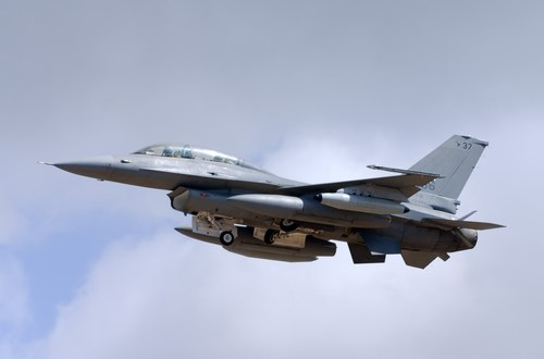 Small arms fire damages F-16 in Afghanistan