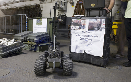 The 5 Coolest Robots at the Biggest US Land Warfare Show – Defense One