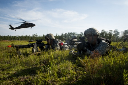 US Army's 82nd Airborne Division Jumps Over Spain in NATO Exercise