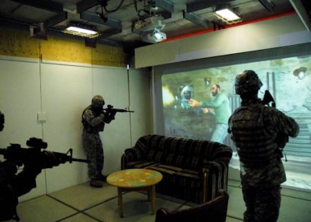Neuroscience in Crosshair of Weapons Training