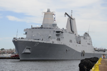 New Amphibious Ship Ordered for Navy, Destroyer To Come