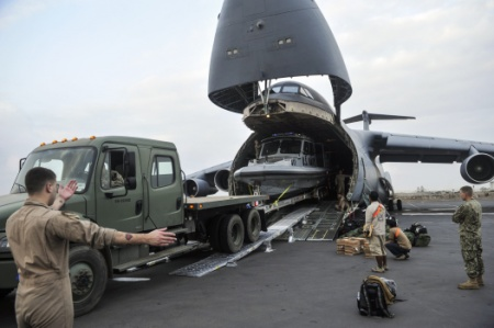 The Aviationist » Here's how a large rigid inflatable boat is airdropped by U.S. Air Force MC-130J Special Ops aircraft