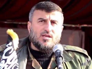 Leader of powerful Syrian rebel group killed in airstrike | World news | The Guardian