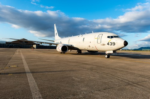 U.S. deploys Poseidon P-8 spy plane in Singapore for 1st time