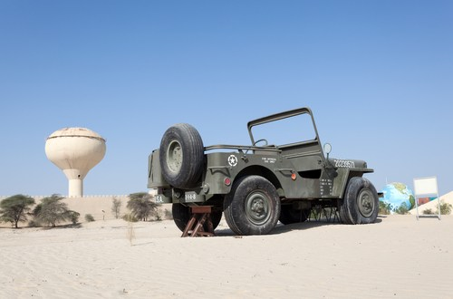 Uncovering the history of Army Jeep #1