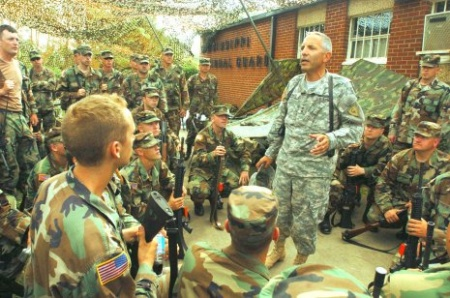 US Major-General visits Slovak 5th special regiment – spectator.sme.sk