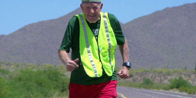 WWII Veteran runs for the fallen – VAntage Point