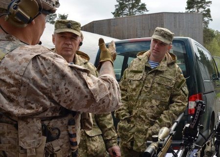 DVIDS – News – Ukrainian and US SOF Commanders discuss the future of Special Ops in Ukraine