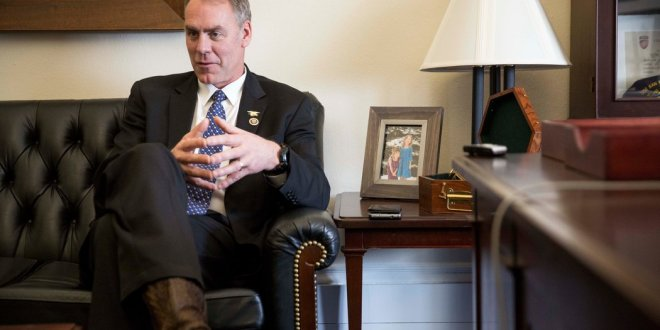 Zinke Call Out… on the House Floor