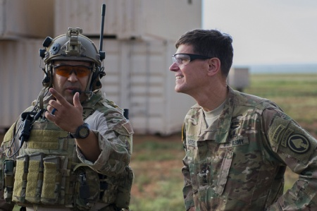 Gen. Joseph Votel makes secret visit to Syria