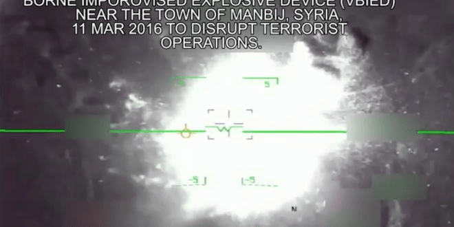 US-led airstrike destroy ISIS VBIED – Business Insider