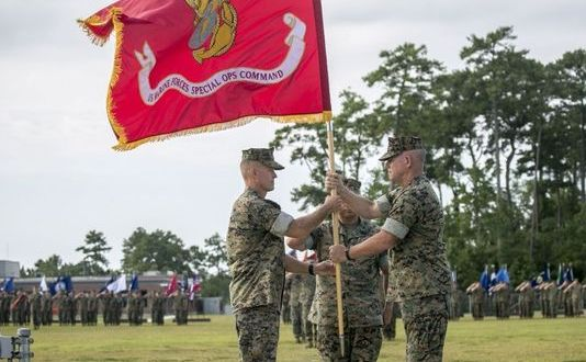 Mundy takes over as commander of Marine Raiders, Osterman heads to SOCOM|Marine Corps Times