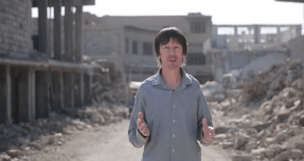 ISIS releases a new video of captive British journalist John Cantlie in Iraq | The Washington Post