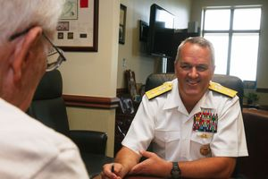 Rear Admiral Takes Control of SOCSOUTH | South Dade News Leader