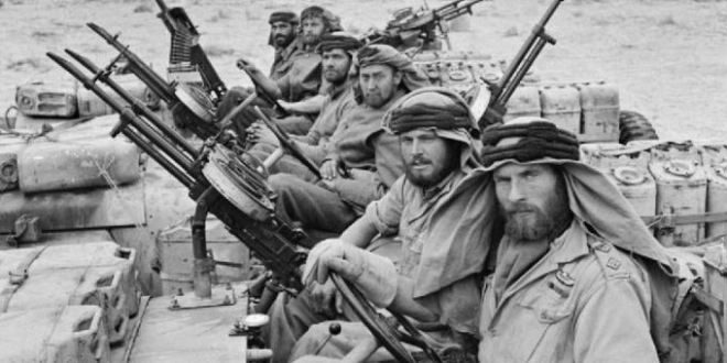 Why the first SAS soldiers were mad, bad – and VERY dangerous to know | Daily Mail Online