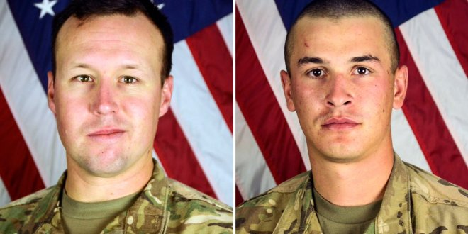 DoD identifies soldiers killed in suicide bombing on Bagram Airfield   ArmyTimes