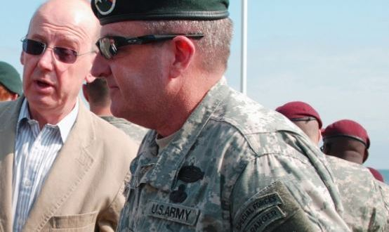 Green Beret Foundation Chairman Retires   Scout