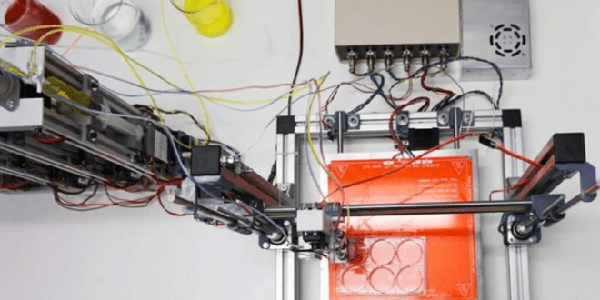 A 3D bioprinter that prints fully functional human skin | KurzweilAI