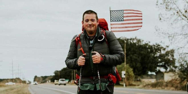 Veterans making solo treks across country for PTSD awareness | Stripes