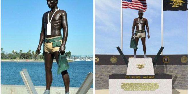 Navy SEAL statues mirror each other across country | The San Diego Union-Tribune