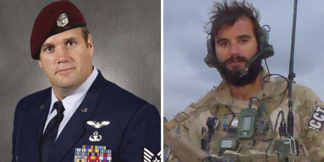 Two former special tactics airmen receive Air Force Crosses | Air Force Times