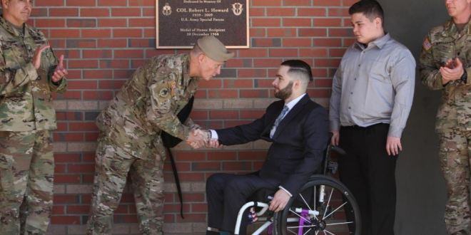 Special Forces legend, Medal of Honor recipient honored in building dedication at Camp Mackall | Fayobserver