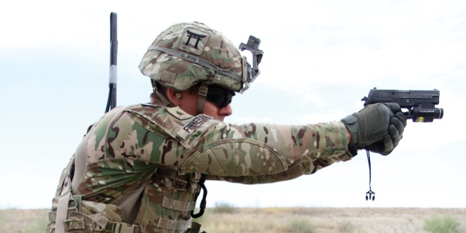 These are the soldiers who will get the Army's new handgun first | ArmyTimes