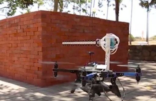 X-ray eyes in the sky: Drones and WiFi for 3-D through-wall imaging | ScienceDaily