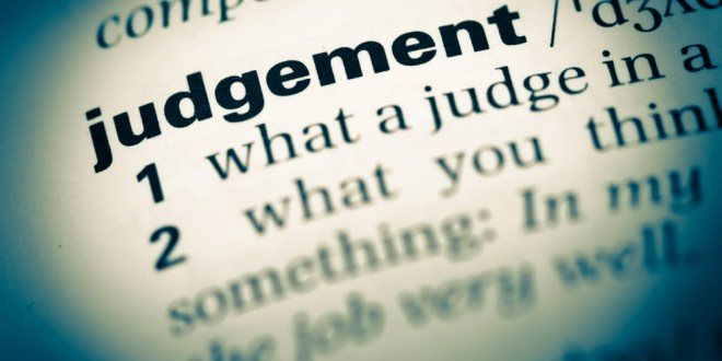 "Seth's Blog: ""Is judgment involved?"" 